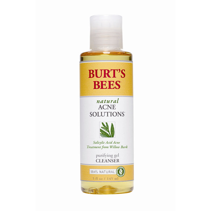 Natural facial cleanser products for back acne