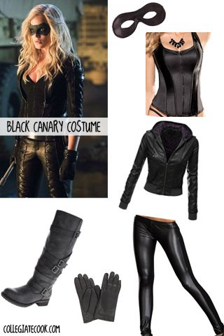 Plus size black canary cosplay