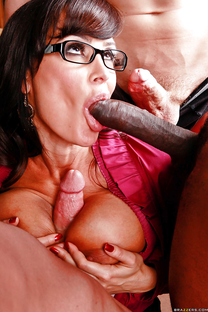 three by Lisa fucked gets