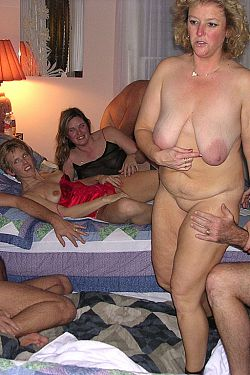 whore threesome old Busty