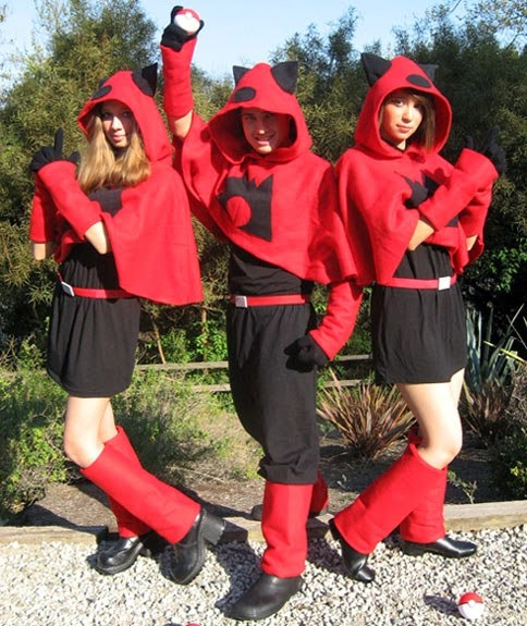 Pokemon team magma cosplay