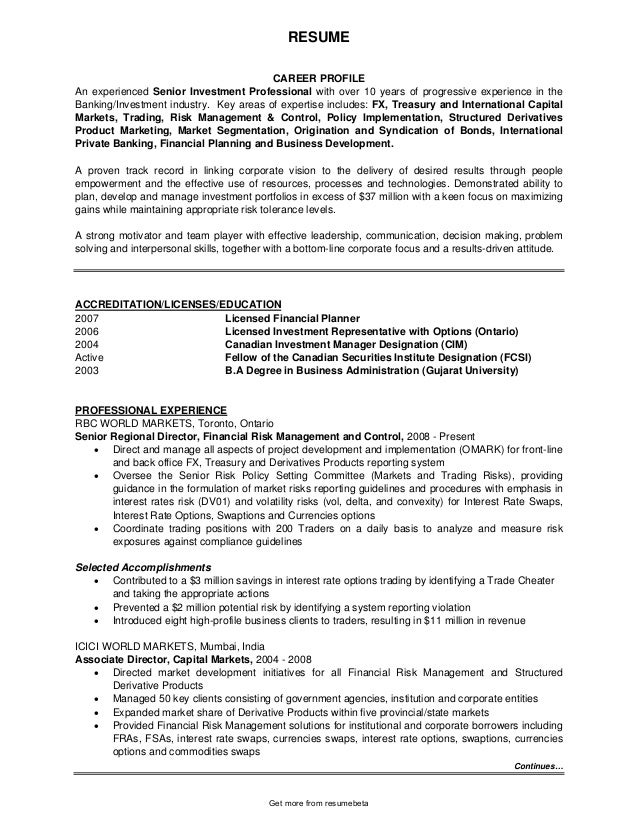 analyst Private banking