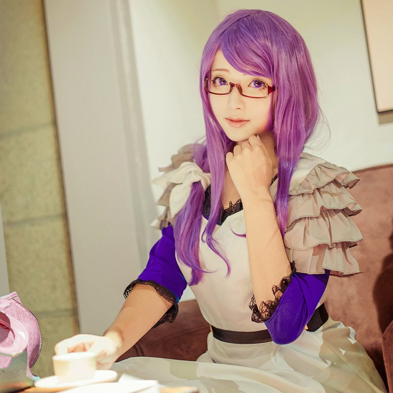rize cosplay Tokyo ghoul