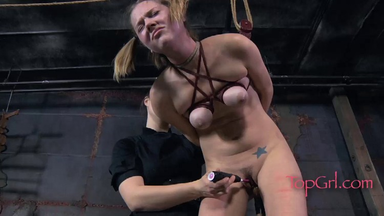 dildo on Bound perched and a