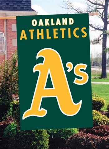 Oakland athletics the swinging as team banner