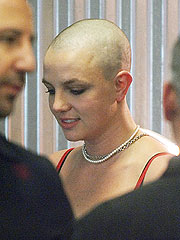 head shaved Britany