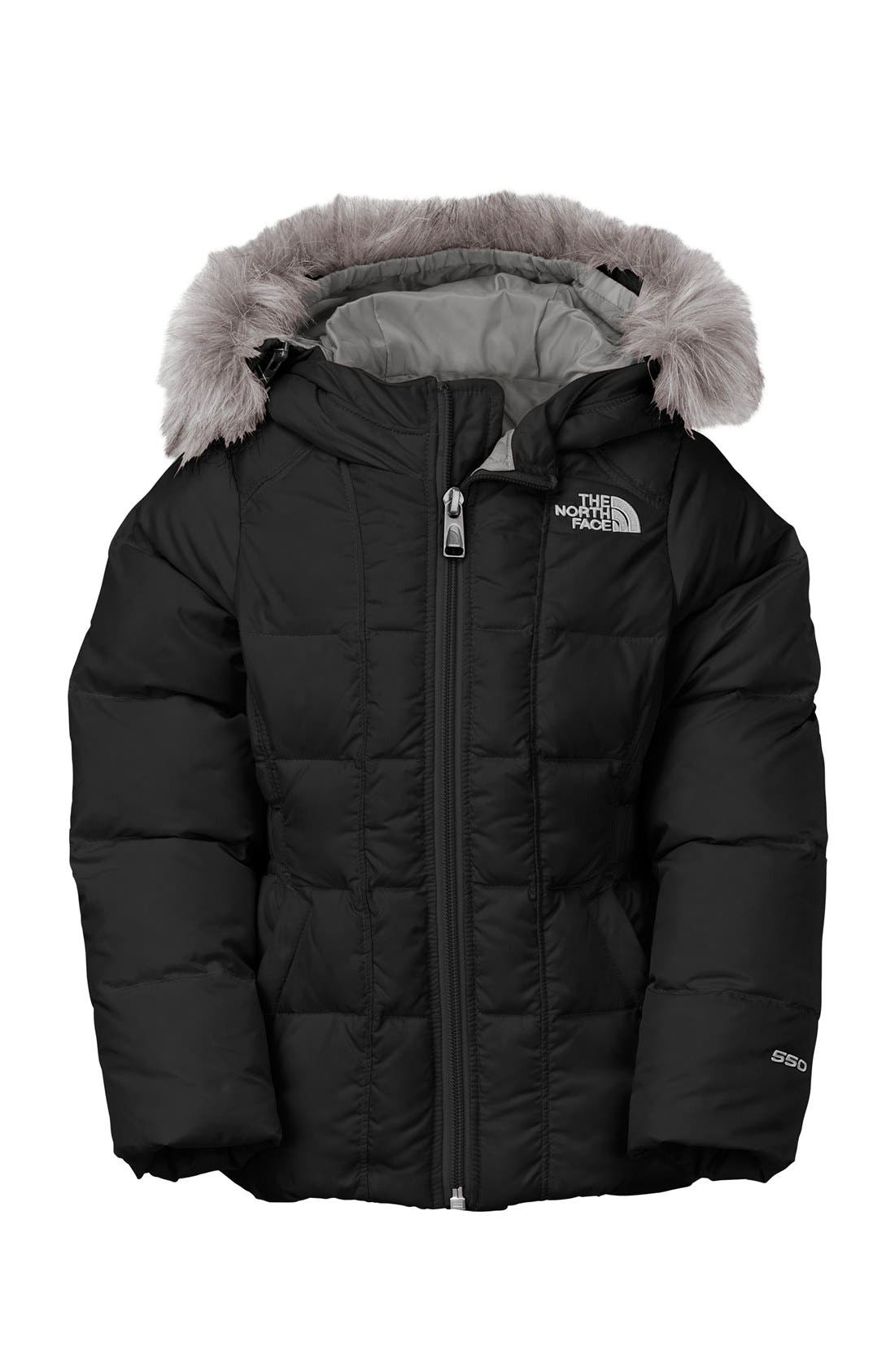 jacket furry North face