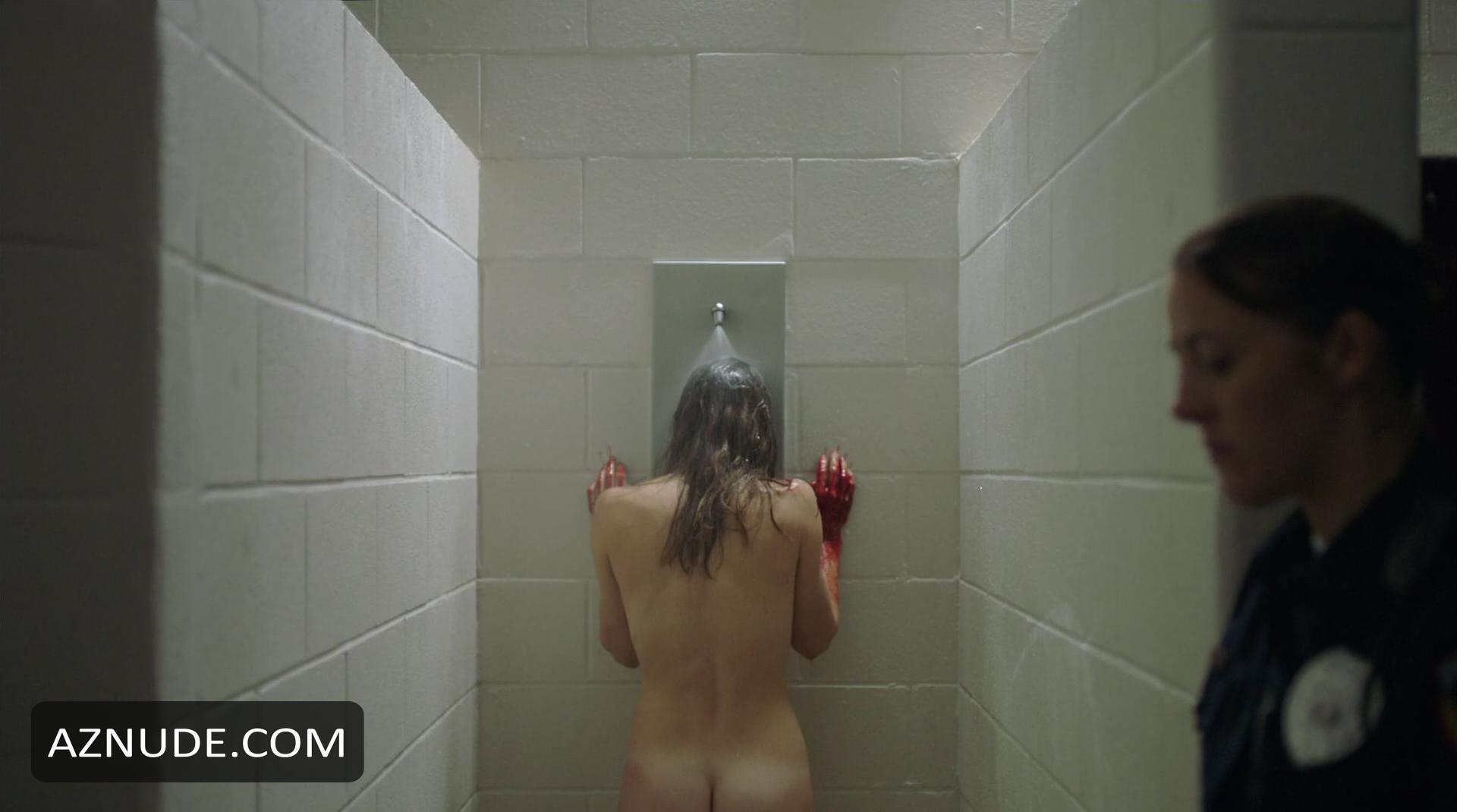 Lena paul caught in the shower