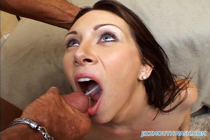 a cum Swallowing load of
