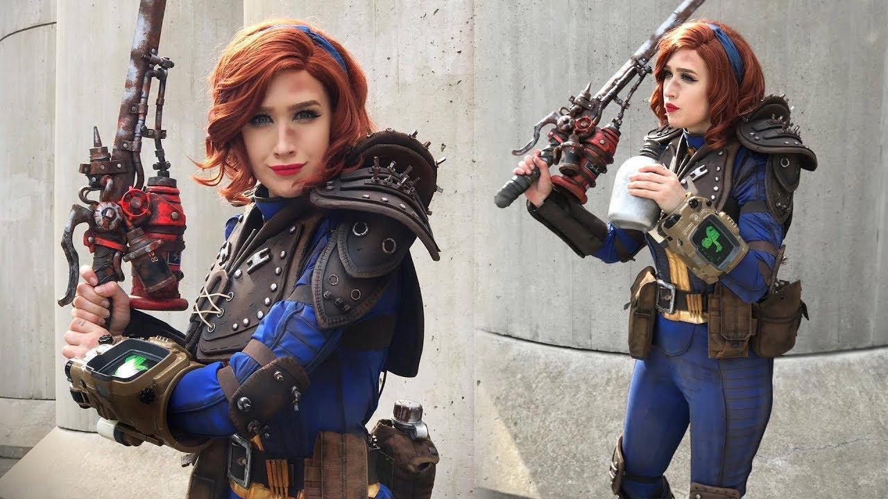 Fallout 4 sole survivor cosplay