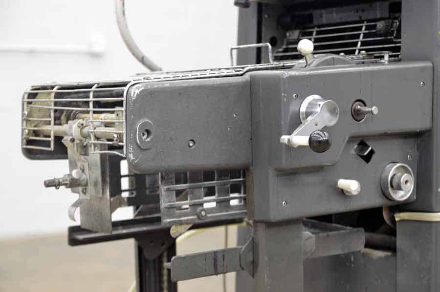 delivery model 360 ab Printing chain equipment dick