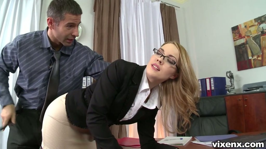 porn older Rough clip boss with