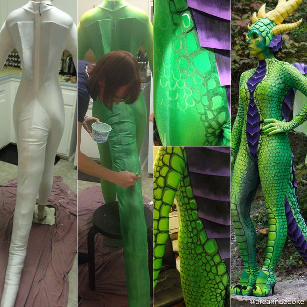 tutorial paint Cosplay body