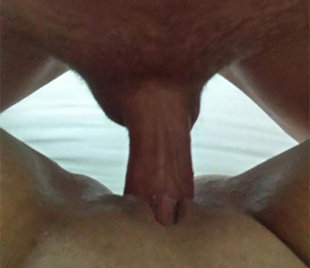 black my fucked a found huge I cock out wife
