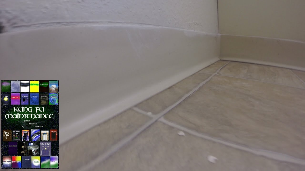 Removal of latex paint from linoleum