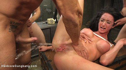 Female playing with her anal