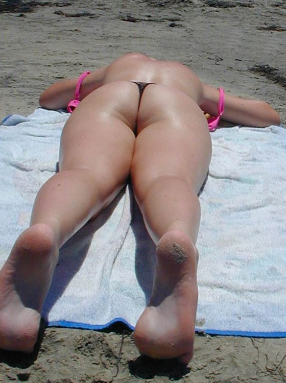 butt gallery beach Ass