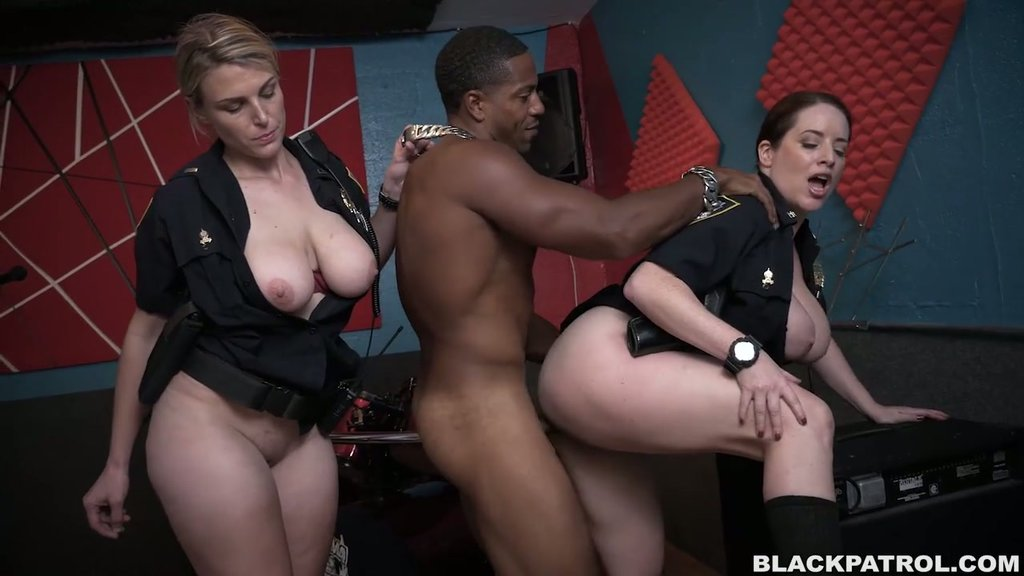 cop Big butt porn video ebony