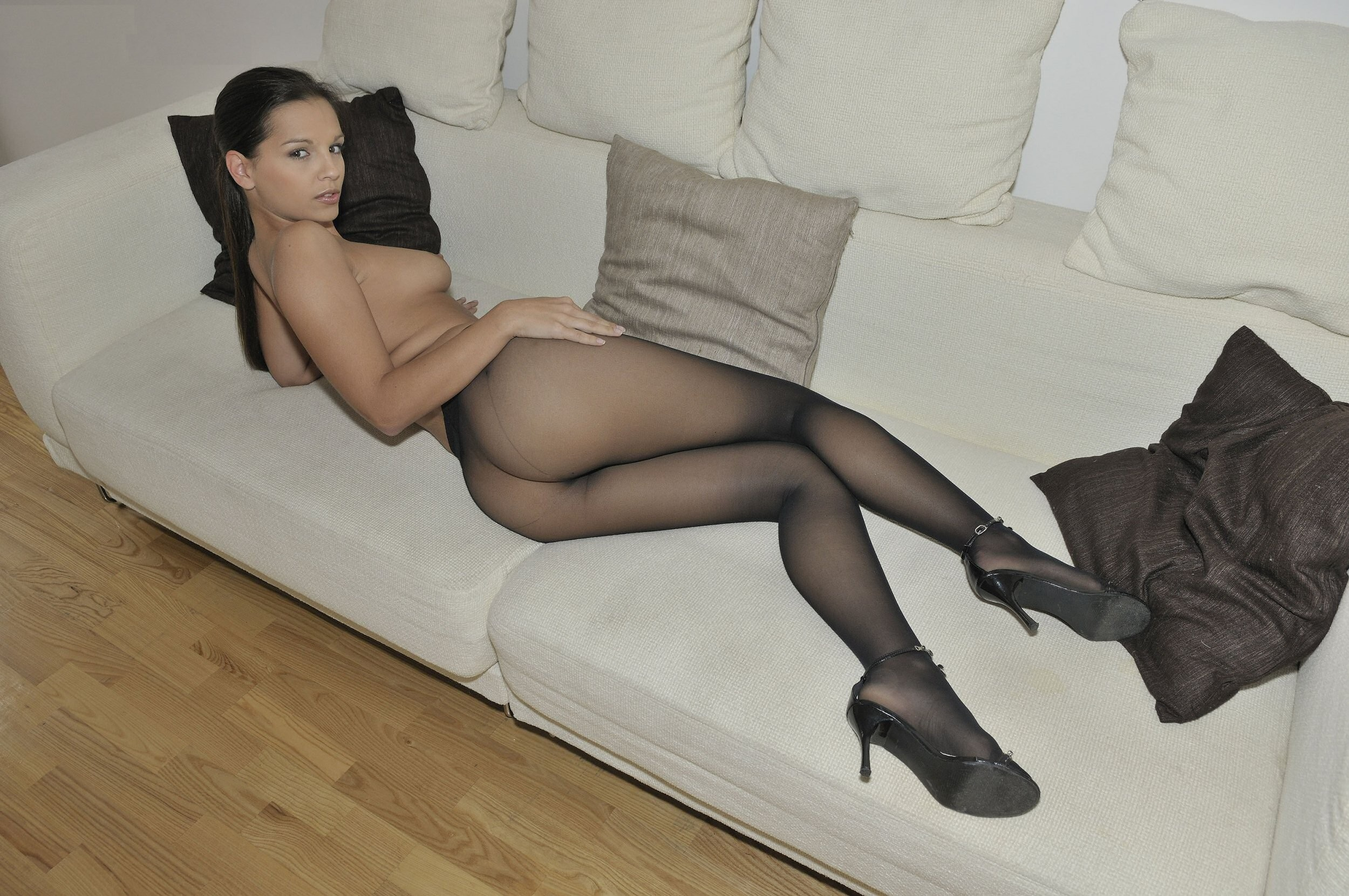in pantyhose Collant