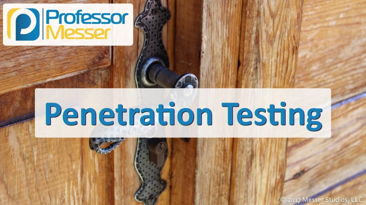 test out penetration Comptia carried