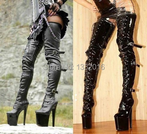 fetish Knee high free pic boots sex