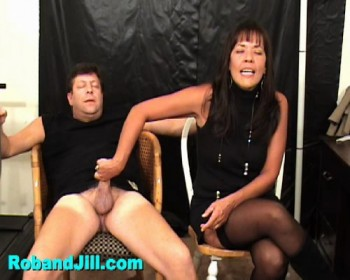 and ruined Rob orgasm bondage jill