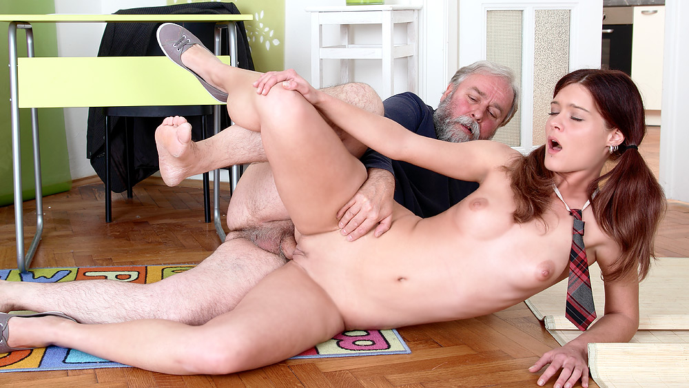 young with students teacher Erotic