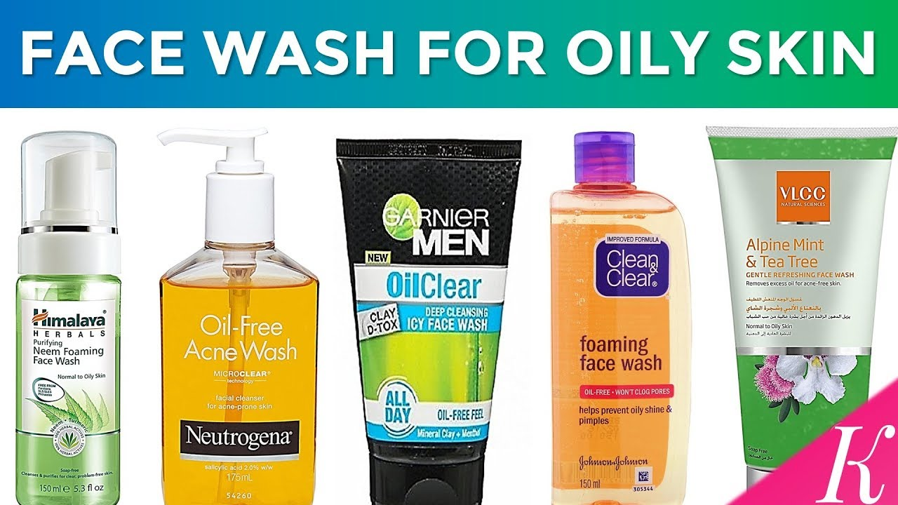 oily Facial skin cleanser