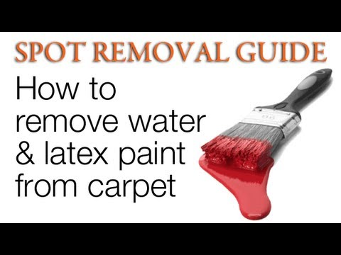 latex from linoleum Removal paint of