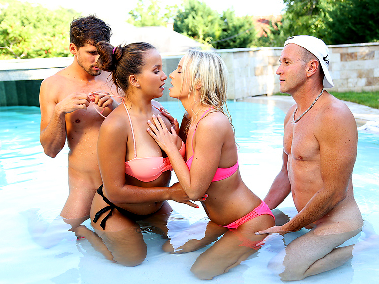 pool party porn Sexy