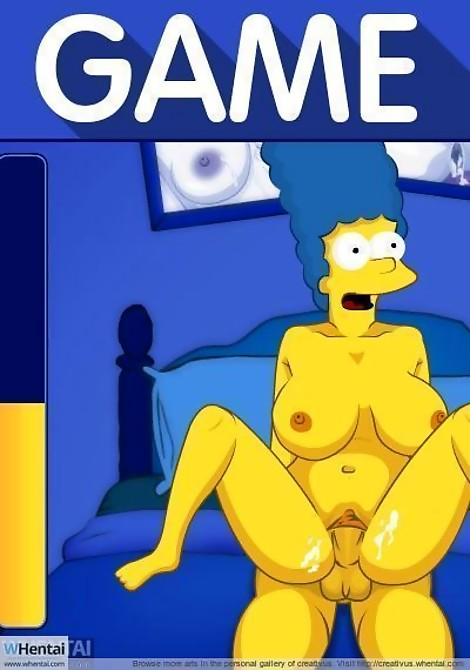 hentai Simpsons cumshot